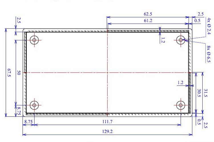 10 Stk Lamellenstopfen 30x15mm GRAU  WS1-2mm Rechteckstopfen