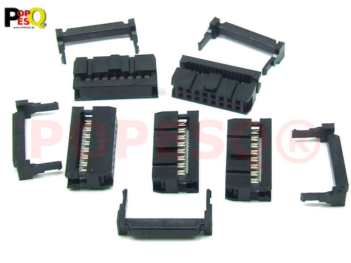 5Stk D-Sub DB15 15 Pin Außer IDC Typ Adapter Stecker für Flachbandkabel