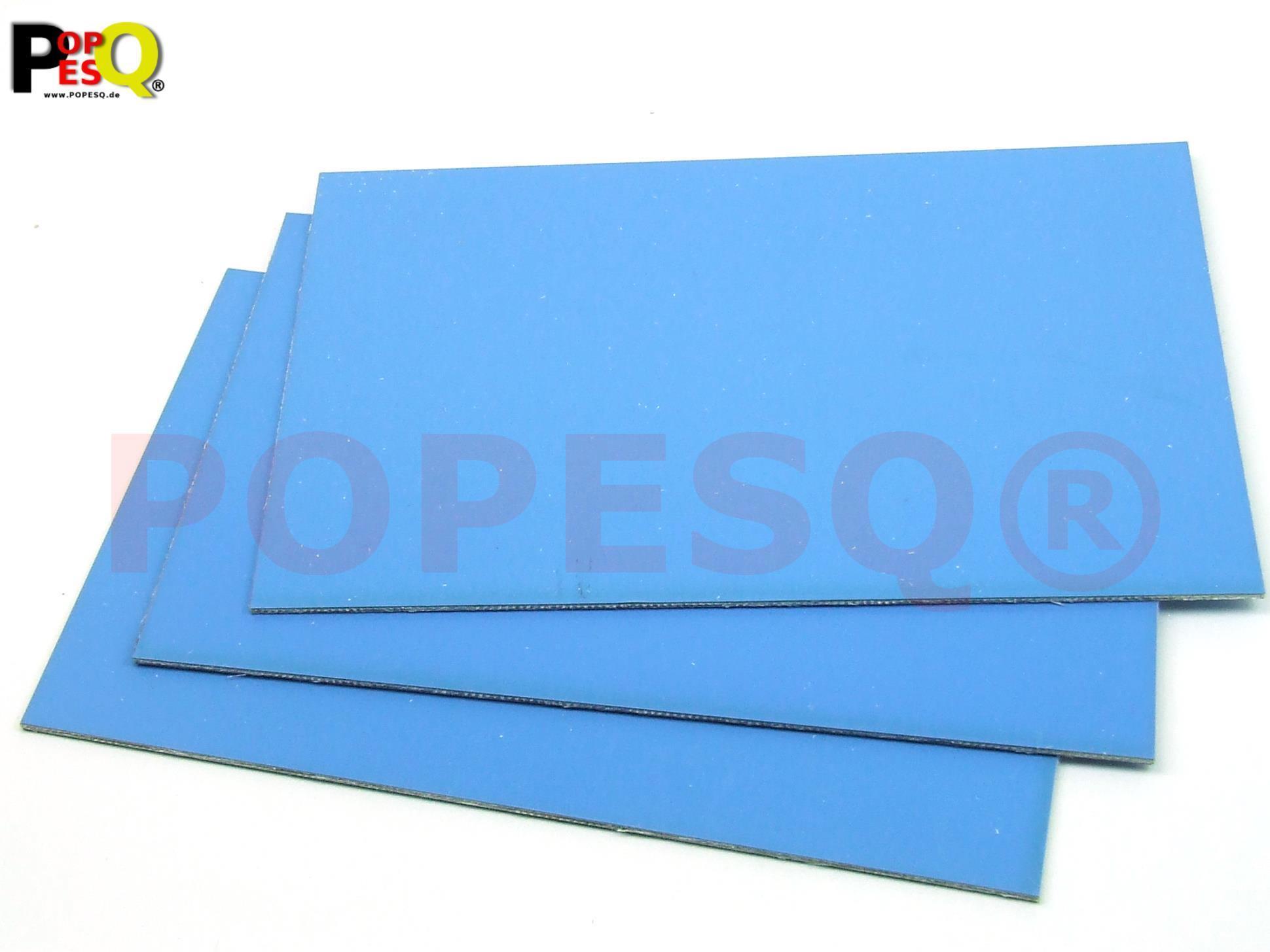 3 Stk x PCB Leiterplatte mit Fotolack 160x100mm 1.5mm FR4 Einseitig #A1889